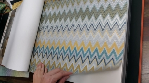 Обои Metal vinyl on non woven Missoni Home 20064