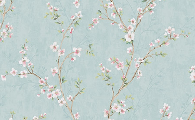 Обои Apple Blossoms Chelsea Lane Collection JB60404